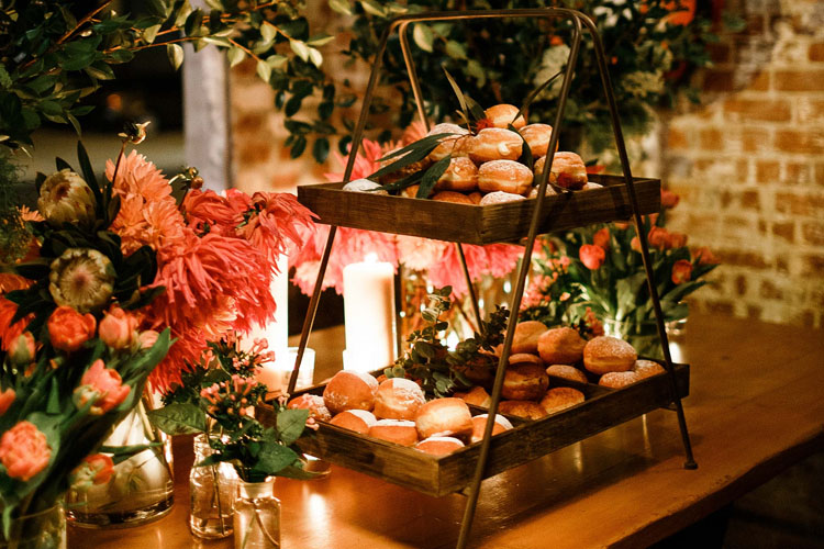 Ways to Serve Doughnuts in Weddings