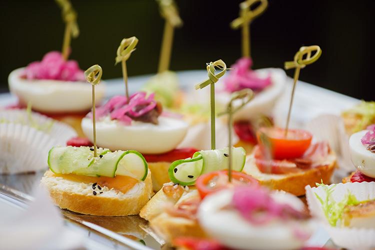 Wedding Catering en Ville