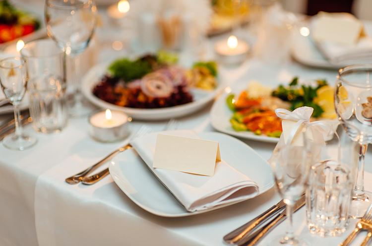 Winter Wedding Food