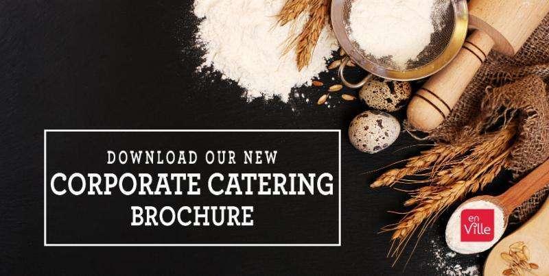 Corporate Catering Brochure