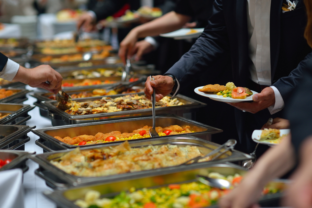 A Buffet Is More Relaxed Setting And Will Have Long Tables With All Of The Dinner Options Presented For Guests There Are Usually Some Servers Behind