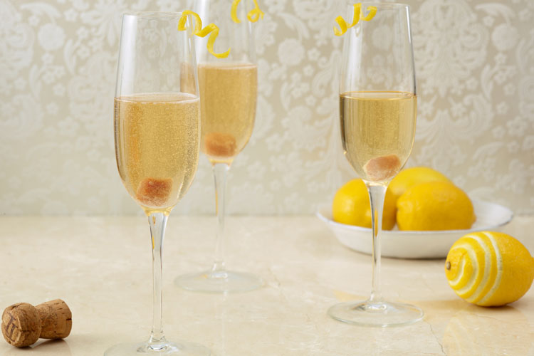 Champagne Toast of the Town