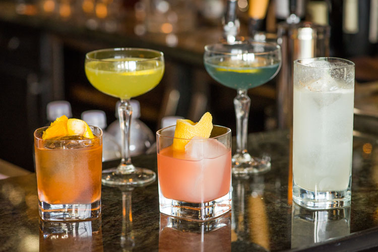 Showcasing Signature Style Cocktails