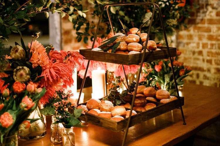 Ways to Serve Doughnuts in Weddings