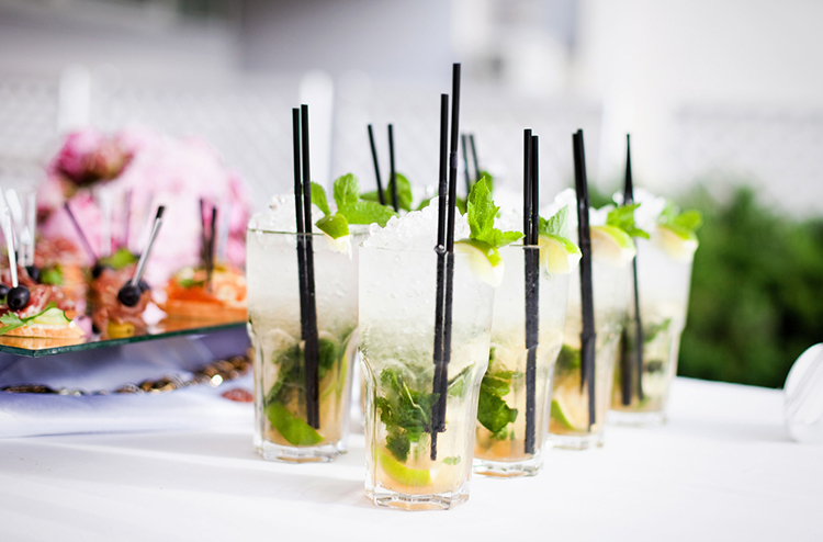 Wedding Mojito Cocktails