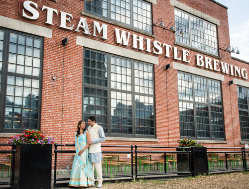 Steam Whistle Brewery Wedding Catering - En Ville Caterers