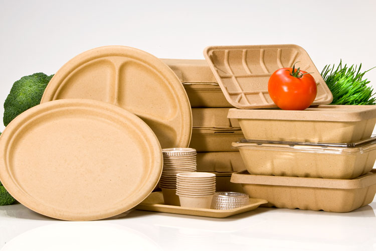 Biodegradable Grab and Go Boxes