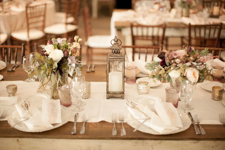 Classic White Color Wedding