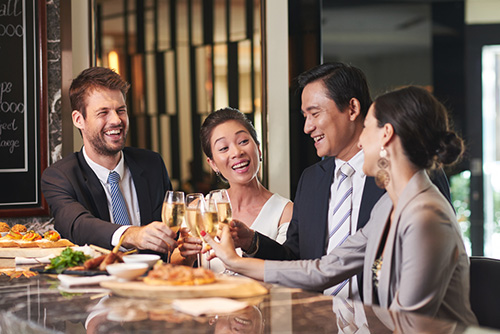 Corporate Catering en Ville
